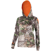 Stoney Creek Womens 365 Tech Hoodie Realtree Xtra Green
