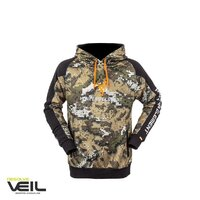 Hunters Element Tungsten Hoodie Desolve Veil Camo L