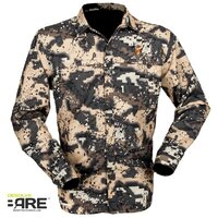 Hunters Element Super Lite Womens Shirt Veil Camo Size 14