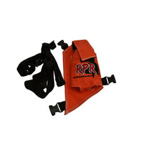 RPR GPS/UHF Canvas Holster Single Orange Hunting Supplies