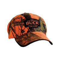 Buck Hunting Cap Blaze Orange Camo
