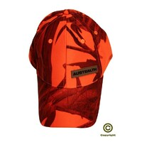 Austealth Cap Orange Camo