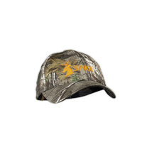 Spika Camouflage Hunting Cap with Orange Logo