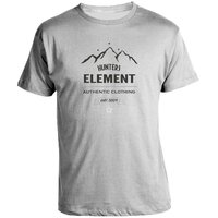 Hunters Element Authentic Tee Grey