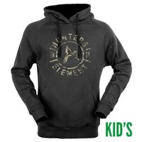 Hunters Element Carbon Hoodie Kids Black