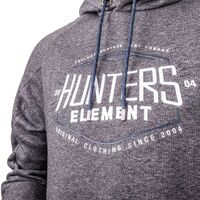 Hunters Element Onyx Hoodie Grey Marle
