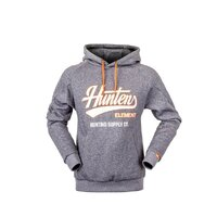 Hunters Element Standard Issue Hoodie Grey Marle