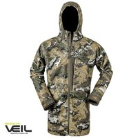 Hunters Element The Woodsman Full Zip Coat Desolve Veil