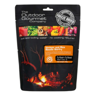 Outdoor Gourmet Company Venison Stirfry Freeze Dried Meal