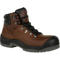 Rocky Worksmart Composite Toe Waterproof Work Boot Brown