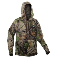 Ridgeline Ballistic Fleece Hoodie Nature Green Camo