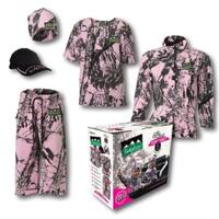 Ridgeline Little Critters 6pc Pink Camo Hunting Clothing Value Pack