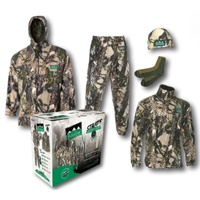 Ridgeline Stalker 5 Piece Fleece Hunting Pack Buffalo Camo