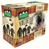 Ridgeline Top to Toe Value Hunting Clothing Fleece Pack Olive - 5 pieces!