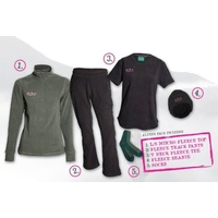 Ridgeline Ladies Alpine Fleece 5pc Hunting Pack