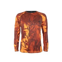 Austealth Long Sleeve Tee Orange Camo