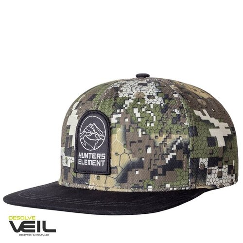 Hunters Element Alp Cap Flat Peak Desolve Veil