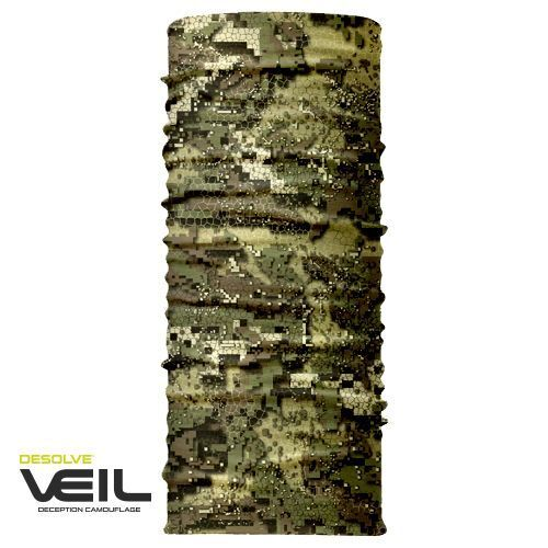Hunters Element Microfibre Kayan Hunting Neck Gaiter Veil Camo