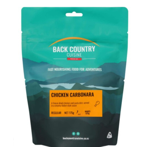 Back Country Cuisine Chicken Carbonara Regular Meal