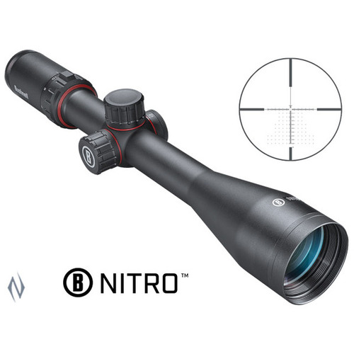 BUSHNELL NITRO 6-24X50 30MM FFP DEPLOY MOA RIFLE SCOPE