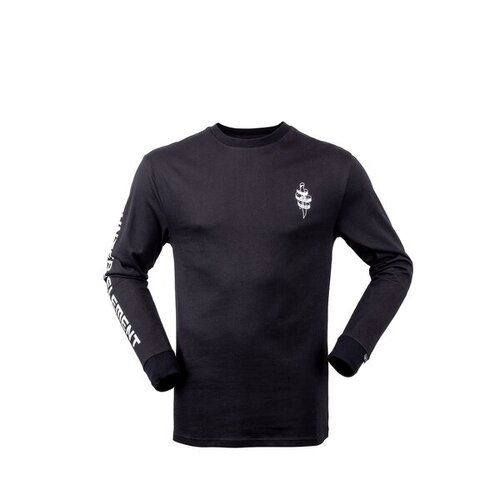 Hunters Element Dagger Long Sleeve Tee Black