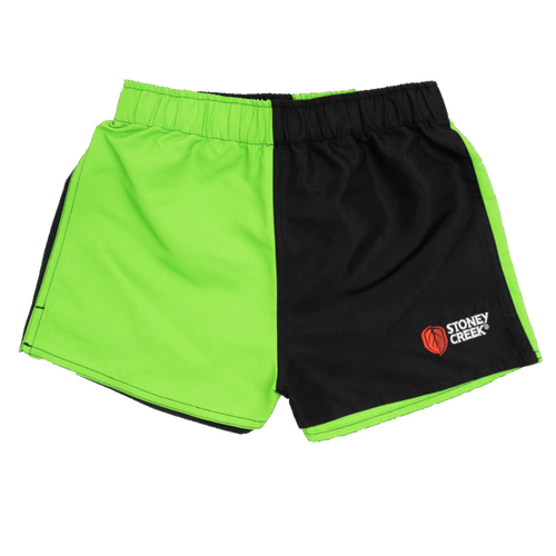 Stoney Creek Kids Jester Shorts Lime/Black