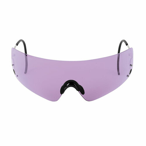 Beretta Shooting Hunting Eye Protective Shields Purple With Case