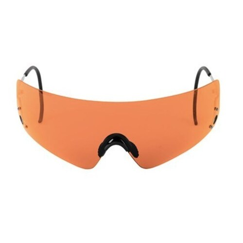 Beretta Shooting Hunting Eye Protective Shields Orange With Case